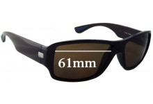 Sunglass Fix Sunglass Replacement Lenses for Ray Ban RB4199 - 61mm Wide