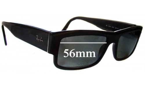 Sunglass Fix Sunglass Replacement Lenses for Ray Ban RB5119 - 56mm wide