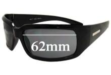 Sunglass Fix Sunglass Replacement Lenses for Roc Greta - 62mm Wide