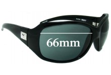 Sunglass Fix Sunglass Replacement Lenses for Roxy The Minx - 66mm Wide