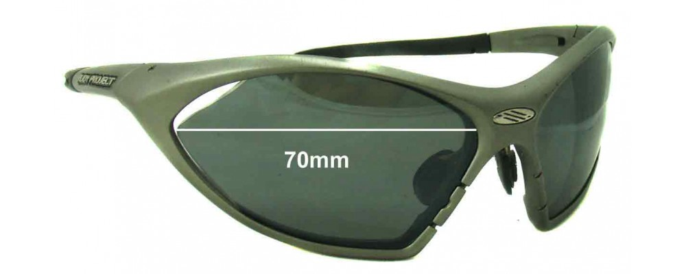 aee5b4ab22b Sunglass Fix Sunglass Replacement Lenses for Rudy Project T-Lock - 70mm wide