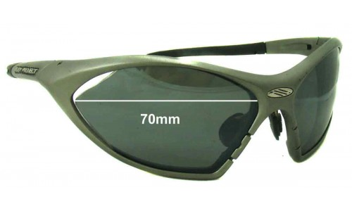 Sunglass Fix Sunglass Replacement Lenses for Rudy Project T-Lock - 70mm Wide