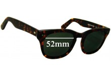 Sunglass Fix Sunglass Replacement Lenses for Shuron Sidewinder 5 1/2 - 52mm Wide
