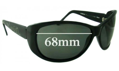 Sunglass Fix Sunglass Replacement Lenses for Smith Novella - 68mm Wide