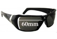 Sunglass Fix Sunglass Replacement Lenses for Specialized El Toro - 60mm Wide