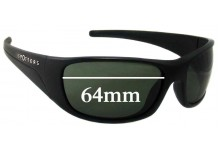 Sunglass Fix Sunglass Replacement Lenses for Spotters Alpha 2015 & Prior - 64mm Wide