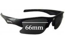 Sunglass Fix Sunglass Replacement Lenses for Spuik Torsion - 66mm Wide