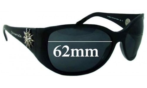 Sunglass Fix Sunglass Replacement Lenses for Tiffany & Co TF 4005-G - 62mm Wide