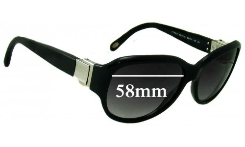 Sunglass Fix Sunglass Replacement Lenses for Tiffany & Co TF 4018 - 58mm Wide