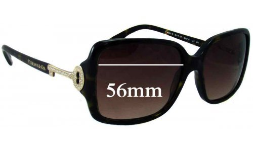 Sunglass Fix Sunglass Replacement Lenses for Tiffany & Co TF 4043 - 56mm Wide