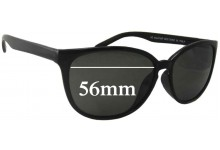 Sunglass Fix Sunglass Replacement Lenses for UC 04447-BP - 56mm Wide