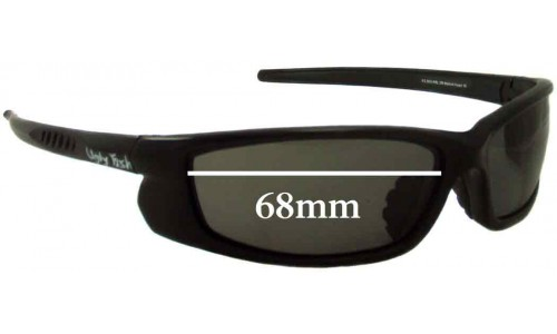 Sunglass Fix Sunglass Replacement Lenses for Ugly Fish RS3800 - 68mm Wide