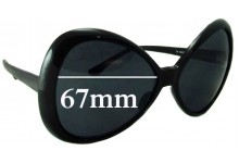 Sunglass Fix Sunglass Replacement Lenses for Unknown Unidentified DYPHC 175 - 67mm Wide