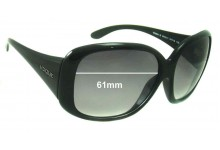 Sunglass Fix Sunglass Replacement Lenses for Vogue VO2551-S - 61mm Wide