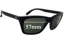 Sunglass Fix Sunglass Replacement Lenses for Vuarnet Pouilloux 006 - 57mm Wide