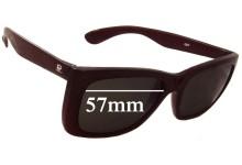 Sunglass Fix Sunglass Replacement Lenses for Vuarnet Pouilloux 087 - 57mm Wide