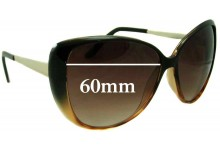 Sunglass Fix Sunglass Replacement Lenses for Witchery Linda - 60mm Wide