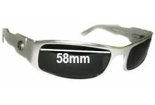 Sunglass Fix Sunglass Replacement Lenses for 420 Aluminum Raptor - 58mm Wide