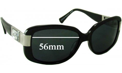 Sunglass Fix Sunglass Replacement Lenses for Alex Perry AP SunRx 07 - 56mm Wide