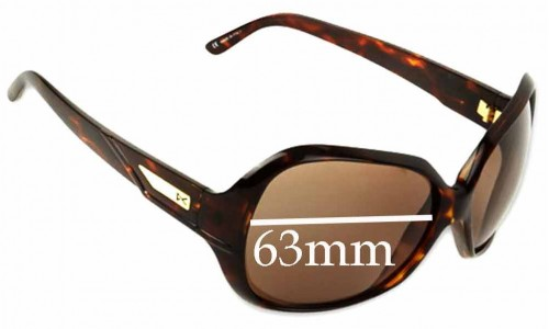 Sunglass Fix Sunglass Replacement Lenses for Anon Paparazzi - 63mm Wide