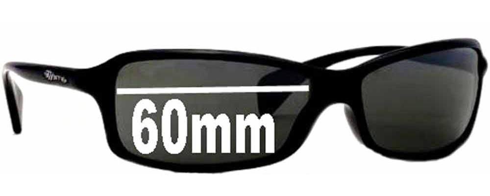 Sunglass Fix Replacement Lenses for Arnette AN4067 - 60mm Wide