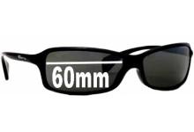 Sunglass Fix Sunglass Replacement Lenses for Arnette AN4067 - 60mm Wide