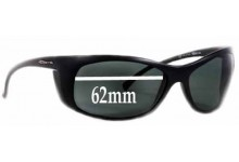 Sunglass Fix Sunglass Replacement Lenses for Arnette AN4083 - 62mm Wide