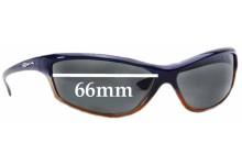 Sunglass Fix Sunglass Replacement Lenses for Arnette Asylum AN4058 - 66mm Wide