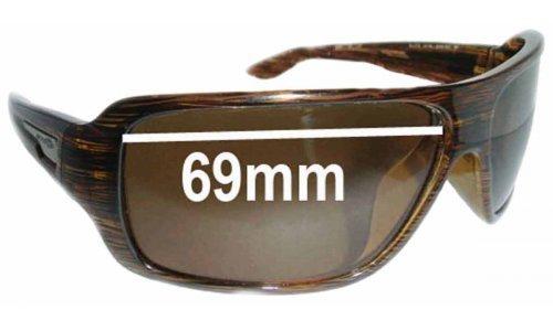 Sunglass Fix Sunglass Replacement Lenses for Arnette Bluto AN4136 - Lens Width 69mm