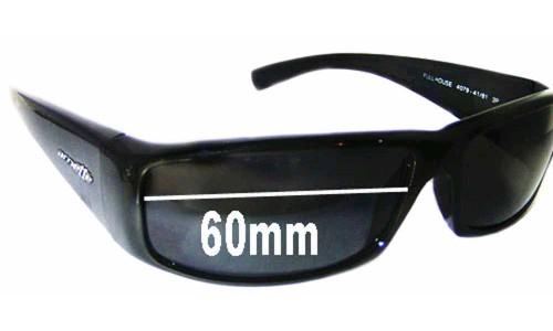 Sunglass Fix Sunglass Replacement Lenses for Arnette Full House AN4079 - 60mm wide