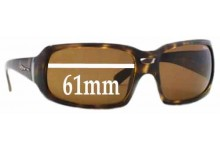 Sunglass Fix Sunglass Replacement Lenses for Arnette Rushmore AN4081 - 61mm Wide