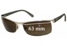 Sunglass Fix Sunglass Replacement Lenses for Calvin Klein CK1079S - 63mm Wide