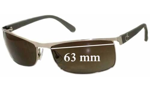 Sunglass Fix Sunglass Replacement Lenses for Calvin Klein 1079S - 63mm wide