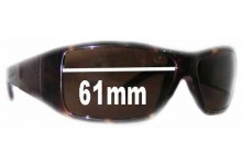 Sunglass Fix Sunglass Replacement Lenses for Calvin Klein CK3052S - 61mm Wide