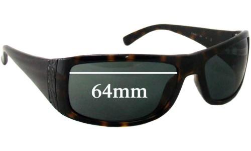 Sunglass Fix Sunglass Replacement Lenses for Calvin Klein CK3078S - 64mm Wide