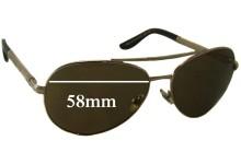Sunglass Fix Sunglass Replacement Lenses for Chopard SCH 763S - 58mm Wide