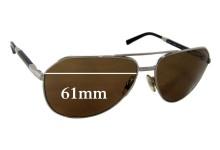 Sunglass Fix Sunglass Replacement Lenses for Dolce & Gabbana DG2073 - 61mm Wide