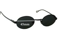 Sunglass Fix Sunglass Replacement Lenses for Dolce & Gabbana DG6013 - 45mm Wide