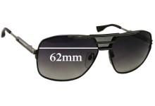 Sunglass Fix Sunglass Replacement Lenses for Dita Armada - 62mm Wide