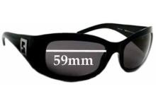 Sunglass Fix Sunglass Replacement Lenses for Fendi FS 332 - 59mm Wide