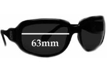 Sunglass Fix Sunglass Replacement Lenses for Fendi FS 410 - 63mm Wide