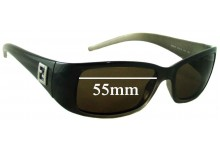 Sunglass Fix Sunglass Replacement Lenses for Fendi FS 5078 - 55mm Wide