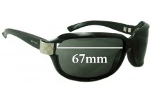 Sunglass Fix Sunglass Replacement Lenses for Gucci GG 2984/N/S - 67mm Wide