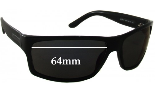 Sunglass Fix Sunglass Replacement Lenses for Gucci GG 1001/S - 64mm wide