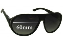 Sunglass Fix Sunglass Replacement Lenses for Gucci GG 1025/S - 60mm Wide