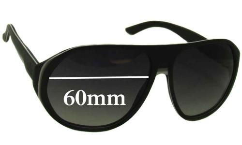 Sunglass Fix Sunglass Replacement Lenses for Gucci GG 1025 - 60mm wide