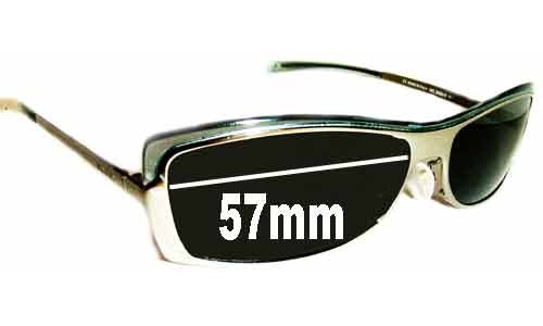 Sunglass Fix Sunglass Replacement Lenses for Gucci GG2689-S - 57mm Wide