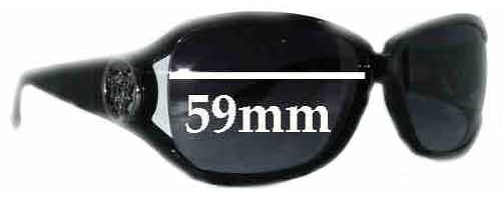 Sunglass Fix Replacement Lenses for Gucci GG3059/S - 59mm Wide