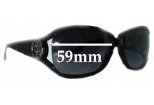 Sunglass Fix Sunglass Replacement Lenses for Gucci GG 3059/S - 59mm Wide