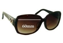 Sunglass Fix Sunglass Replacement Lenses for Gucci GG3178 K/S - 60mm Wide